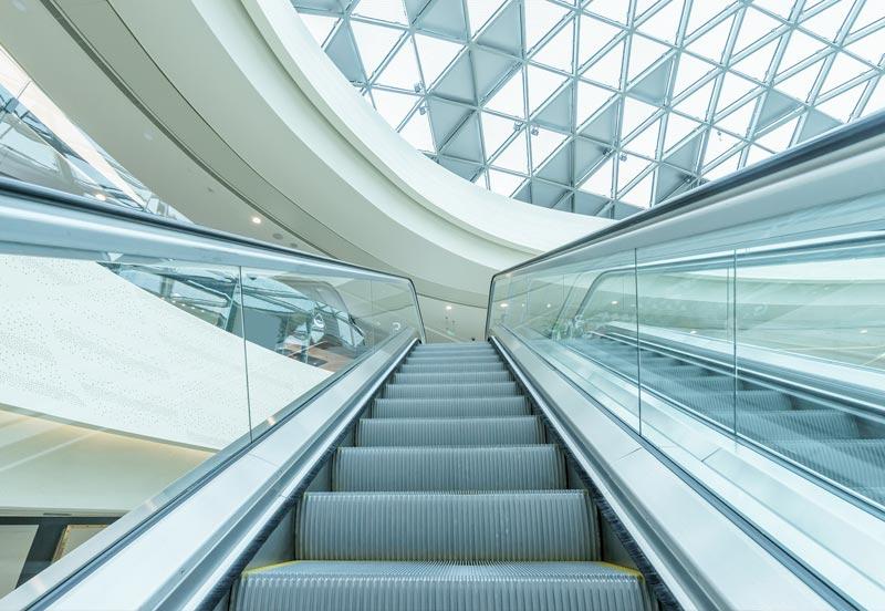 manutenzione scale e tappeti mobili aeroporti